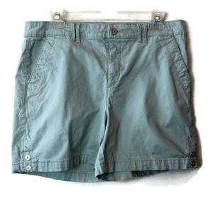 Gloria Vanderbilt All Around Slimming Shorts Mint